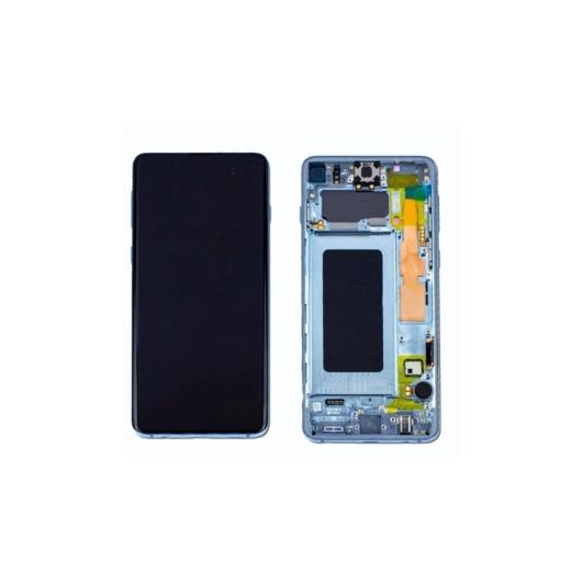 Samsung SM-G986 Galaxy S20 + / S20 Plus LCD kijelző / képernyő + érintőképernyő - fekete