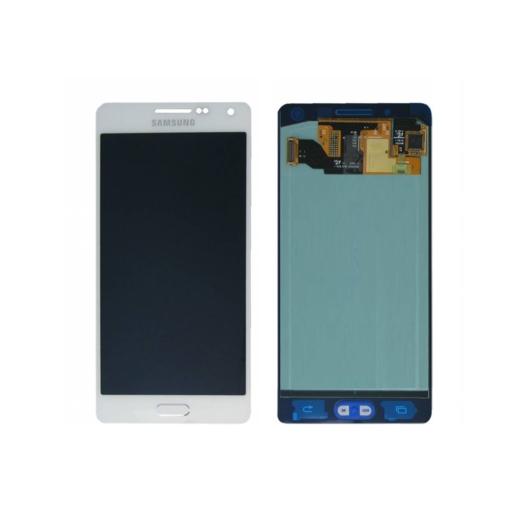 Samsung SM-A500 Galaxy A5 LCD kijelző / képernyő + érintőképernyő - fehér