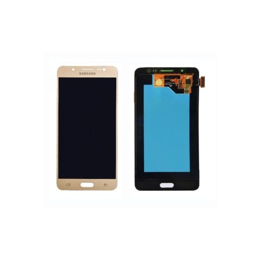 Samsung SM-J510 Galaxy J5 (2016) LCD kijelző / képernyő + érintőképernyő - arany