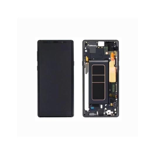 Samsung SM-N960 Galaxy Note 9 LCD kijelző / képernyő + érintőképernyő - fekete
